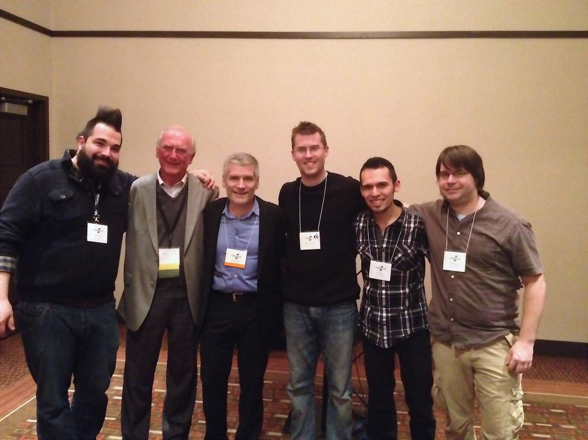 Michael Burritt, John Beck, and a bunch of their students!