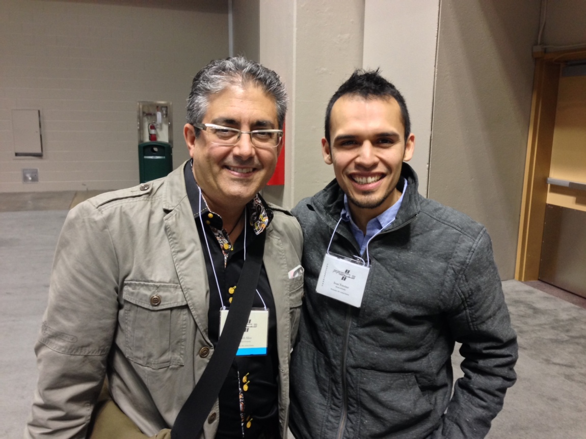 w/ Keith Aleo, an amazing percussionist, educator, and a supporter of my music. Thanks Keith!