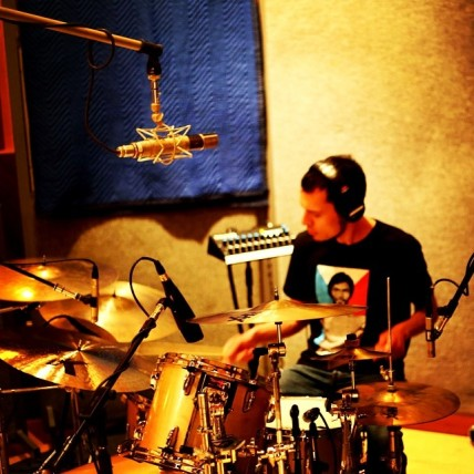 I recorded drums at Barber Shop Studios in NJ. Great drum room here!