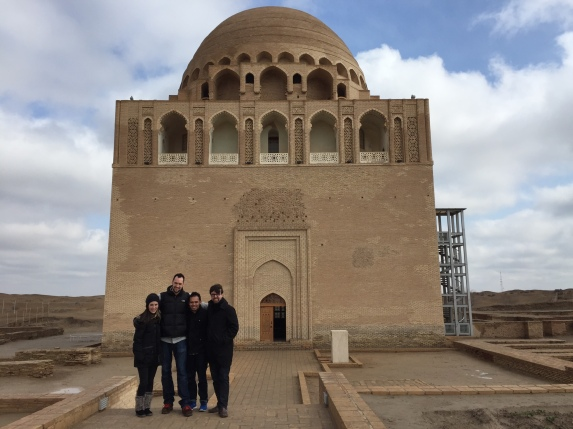 Ancient mosque from the Silk Road city of Merv.