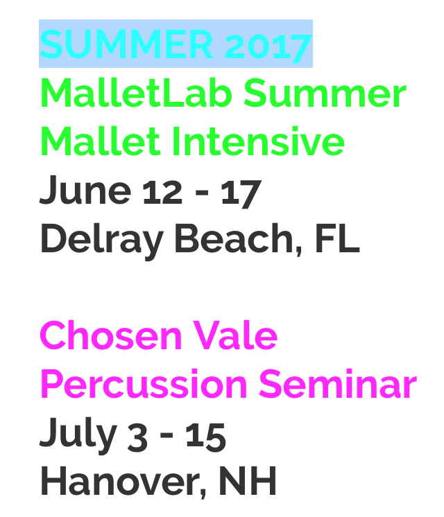 Join me this summer!
