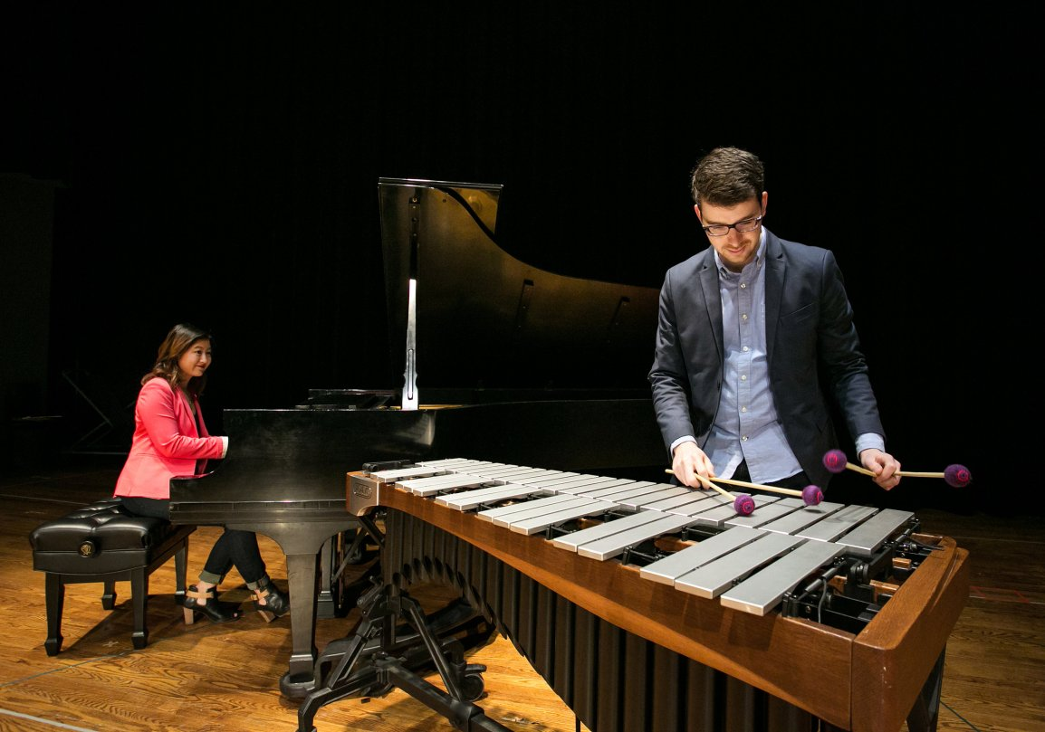 Empathy for vibraphone & piano duo