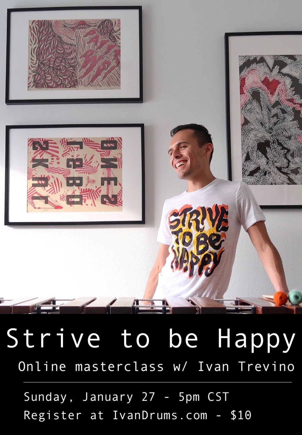 Strive to be Happy online masterclass