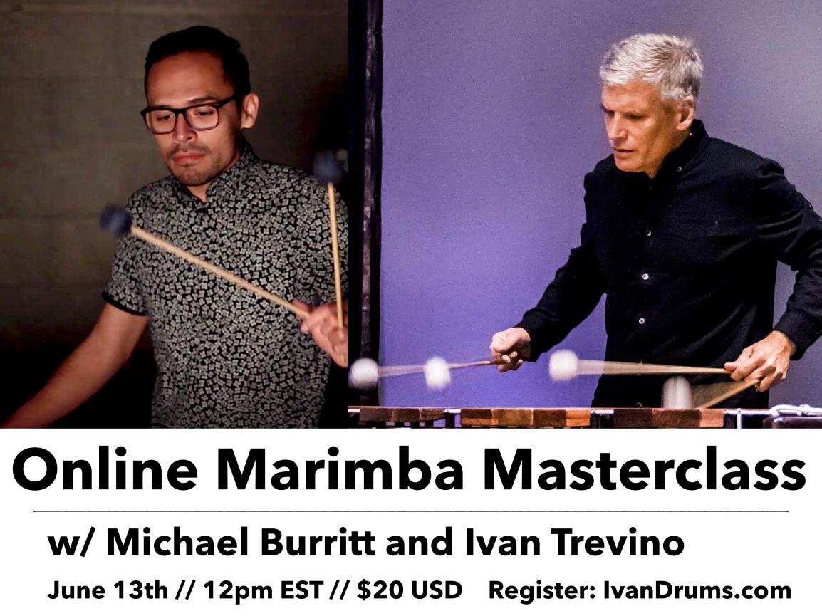 Online Marimba Masterclass w/ MichaelBurritt